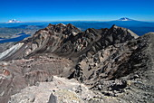 View from Mount St. Helens Crater