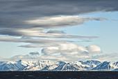 Glacier in Svalbard Archipelago
