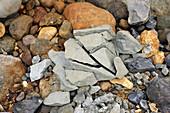 Frost Erosion on Rock