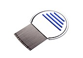Nit comb for removing headlice from hair