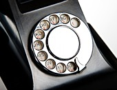 Bakelite telephone dial