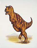 Close-up of a dinosaur,illustration