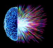 Brain explosion,artwork