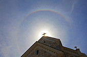 Solar Halo and Church