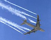 Boeing 727 Wake Vortex