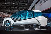 Toyota FCV Plus hydrogen fuel cell car