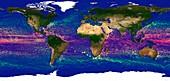 Global ocean currents