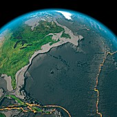 Global tectonics,north-eastern Atlantic