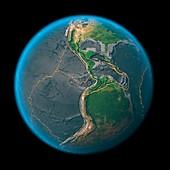 Global tectonics,the Americas