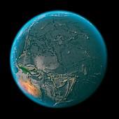 Global tectonics,Pacific Plate