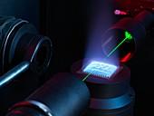 Standard test flame calibration