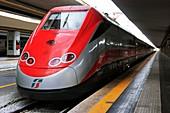 Frecciarossa train in Naples