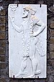 Mercury relief in Herculaneum