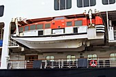 Ro-Ro ferry lifeboat in Naples