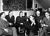 Berkeley cyclotron physicists,1940