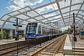 Light rail transit system,Charlotte,USA