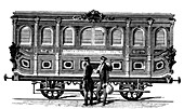 19th Century post office rail carriage