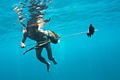 Spear fishing,Malaysia