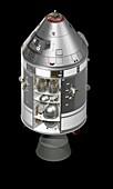 Apollo Command Service Module,artwork