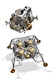 Apollo Lunar Module propulsion systems