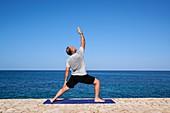 Yoga by the sea,Jamaica