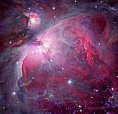 Orion Nebula,composite image