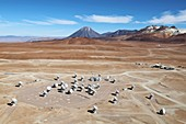 ALMA telescopes,Chajnantor Plateau
