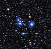 Open cluster M47,optical image