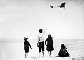 Flight of Louis Bleriot,1909