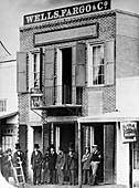 First Wells Fargo bank,1852