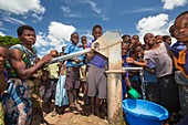 Baani refugee camp,Malawi