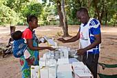 Malaria clinic,Malawi