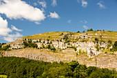 Limestone escarpment,Cumbria,UK