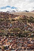 The peak of Huayna Potosi,Bolivia