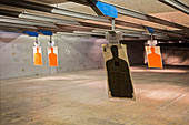 Shooting range,Las Vegas,USA