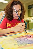 Intellectual disabilities arts program