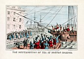 Boston Tea Party,1773