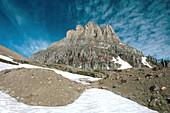 'Glacial moraine,Glacier National Park'
