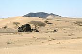 Desert in Yemen