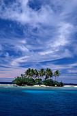 'Small island in Truk Lagoon,Micronesia'