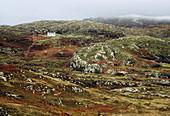 Cottage on Scottish hillside