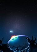 Artwork of Methuselah,the Genesis Planet