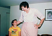Sandy Allen,the World's tallest woman