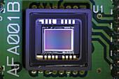CCD Sensor of a Digital Video Camera