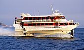 Jetfoil boat