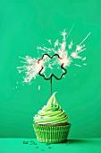 Cupcake zum St. Patricks Day
