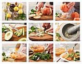 How to prepare grapefruit and avocado salad