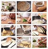 Auberginen-Kokoscurry mit Basmatireis zubereiten