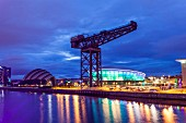 The River Clyde in Glasgow, Scotland