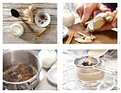 Gewürztee mit Milch zubereiten